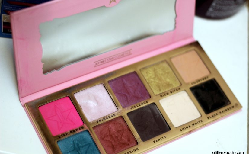 My experience with Jeffree Star Cosmetics, Beauty Killer palette review, swatches