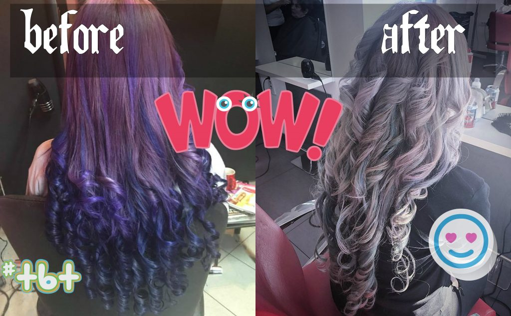 How to Get Silver Hair from Purple without Bleaching